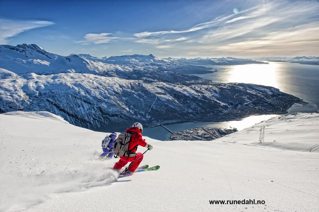 Dette er opplevelser du kan få oppleve under årets Camp Narvik. Foto: Rune Dahl
