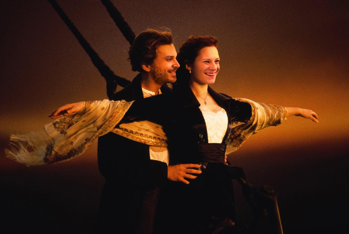 Arne Kristian og Marthe i Titanic