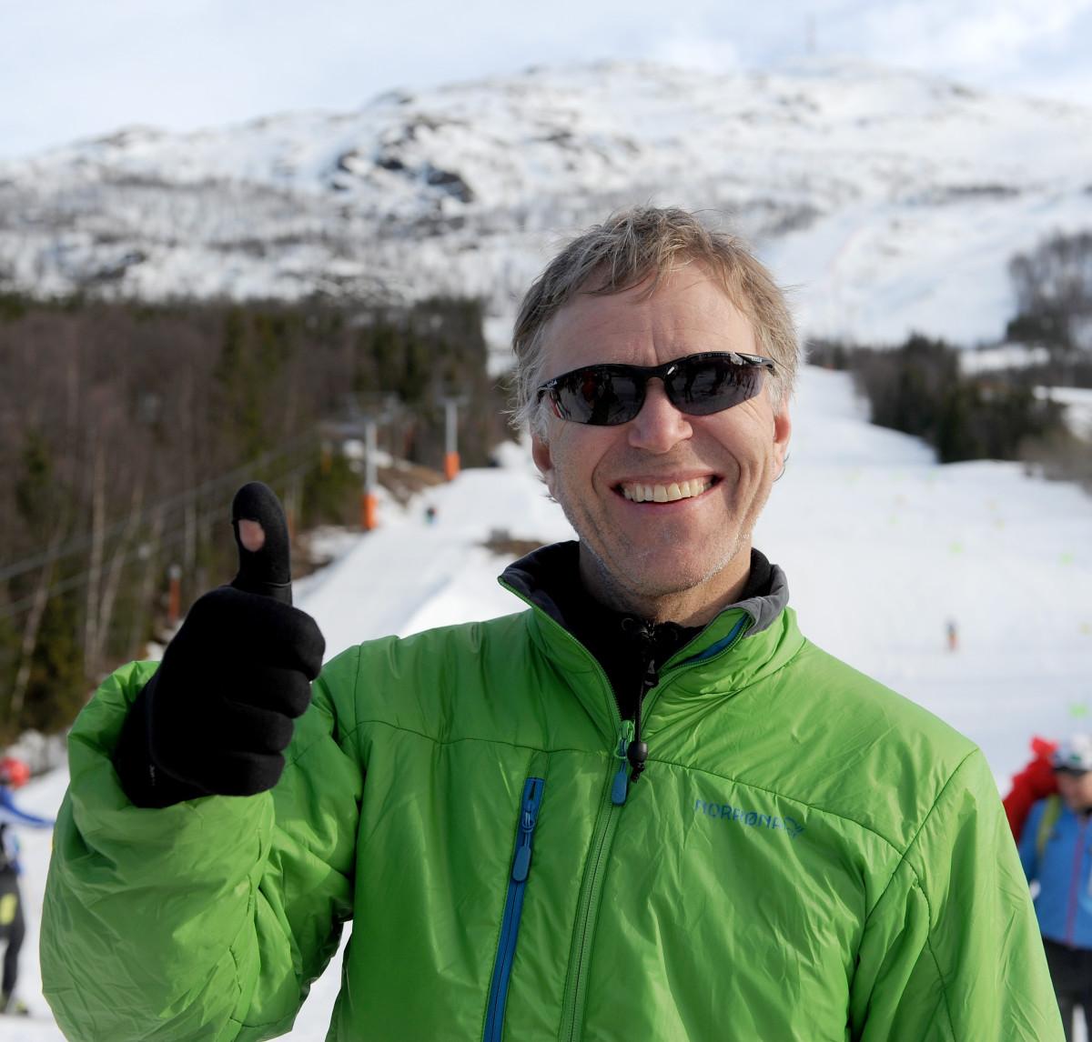 Trond Solberg fikk beste tid i klasse herrer trim. Foto: Rune Dahl
