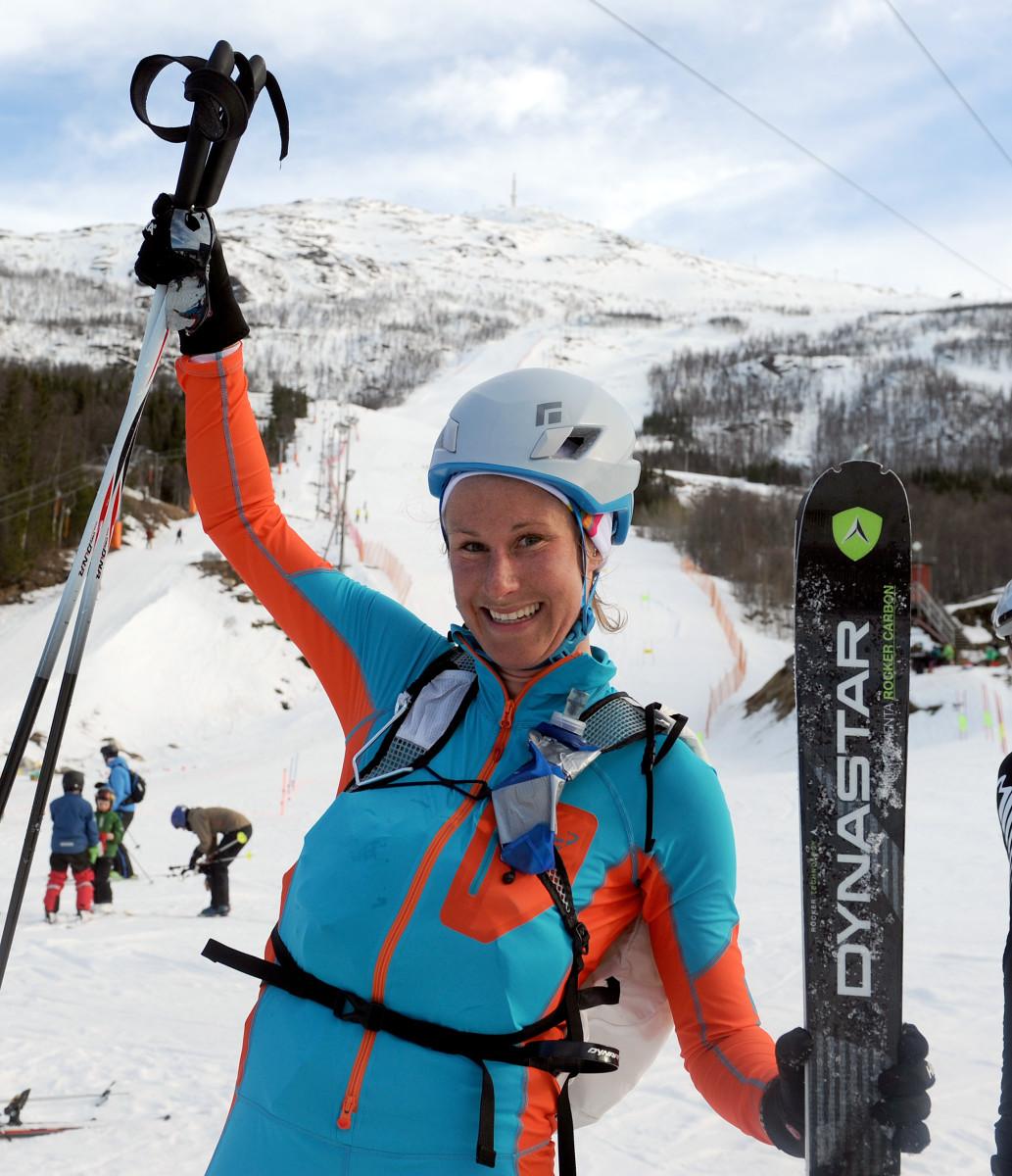Svenske Jenny Råghall vant klasse damer elite. Foto: Rune Dahl