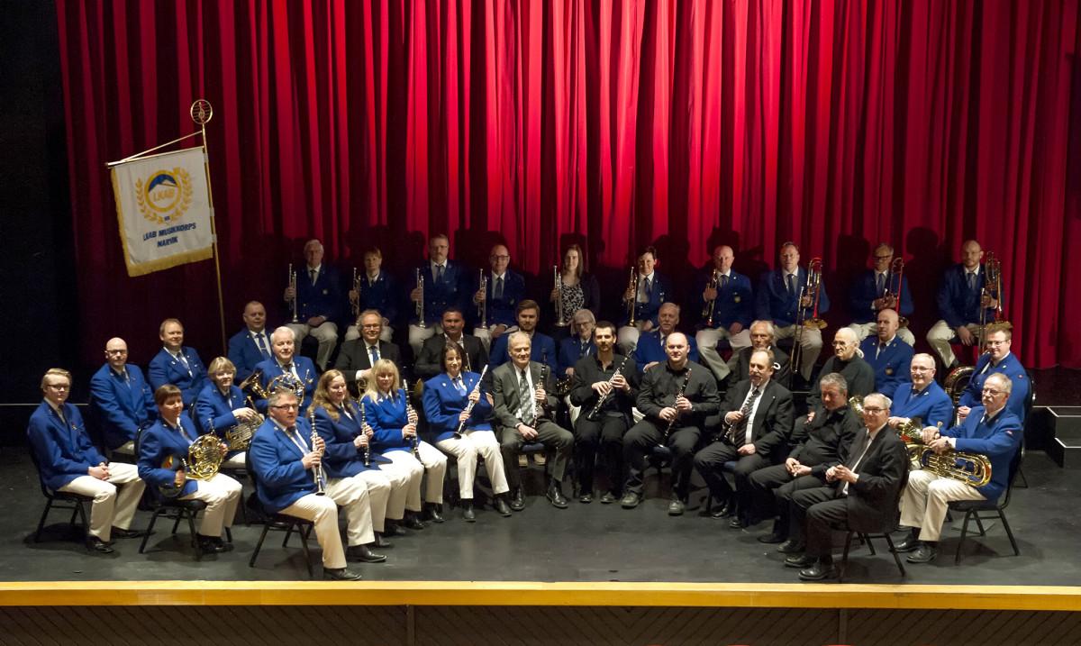 LKAB Musikkorps inviterer til storslagen 90-års jubileumskonsert i Narvik Kulturhus i morgen. Foto: Rune Dahl