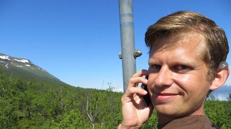 Axel Darvin er initiativtaker til hotellplanene. Foto: nsd.se