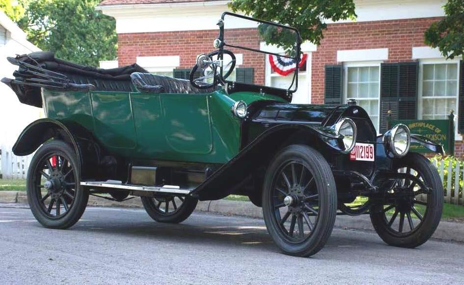 Dette er bilen Ulf Ragnar Hansen skal se på i USA.