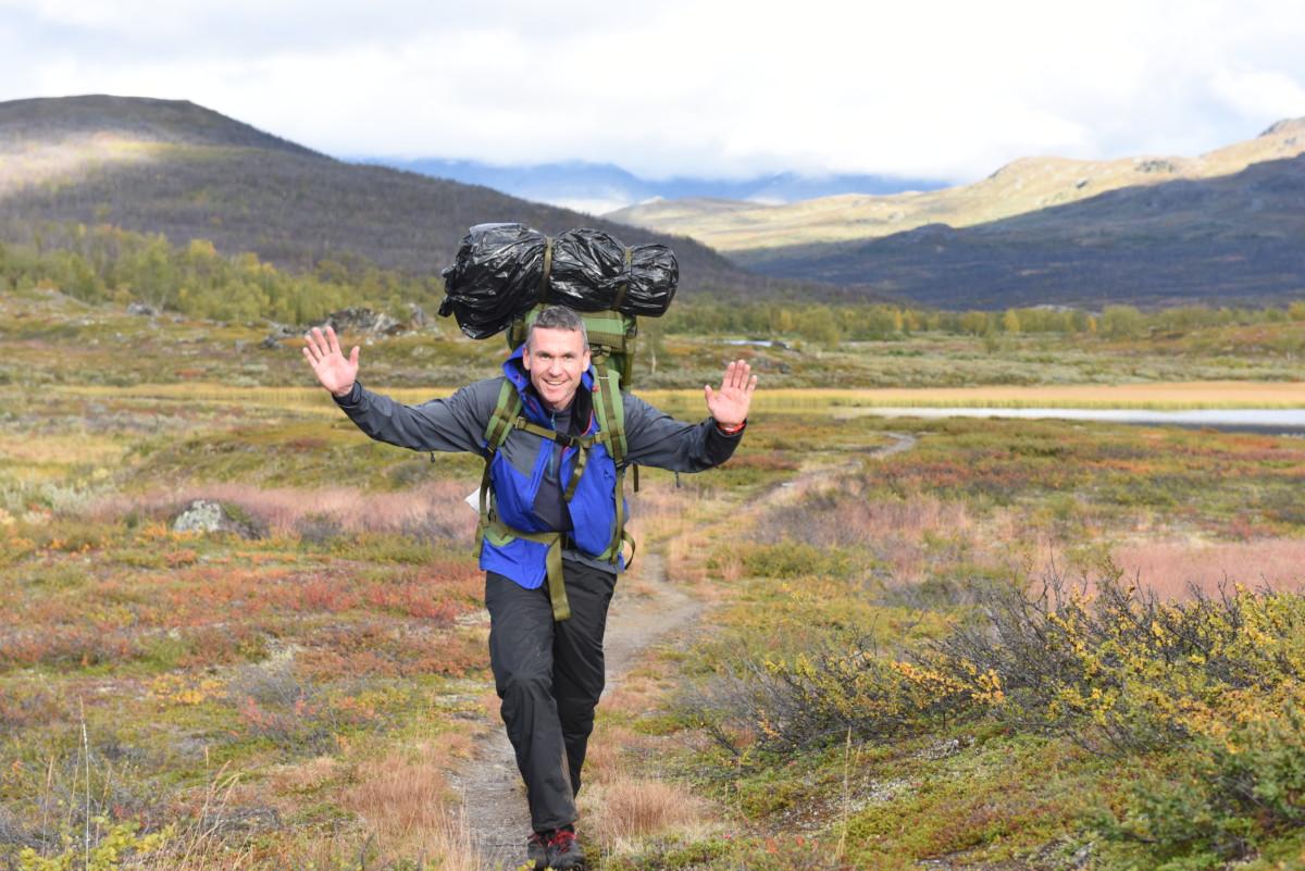 Turleder Stein Ivar Woll er fornøyde med både tur og deltakere.