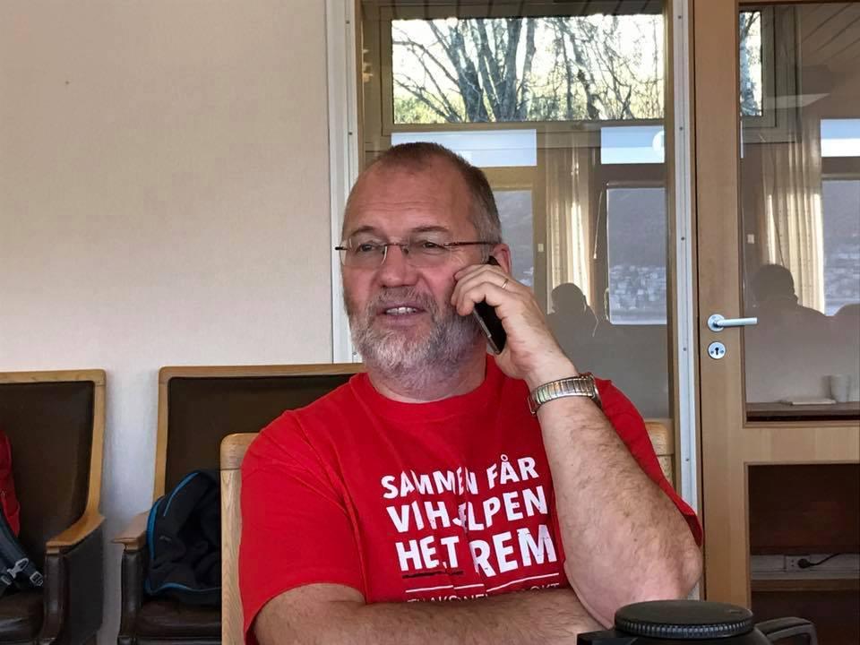 Geir Ketil Hansen er rodeleder i Narvik