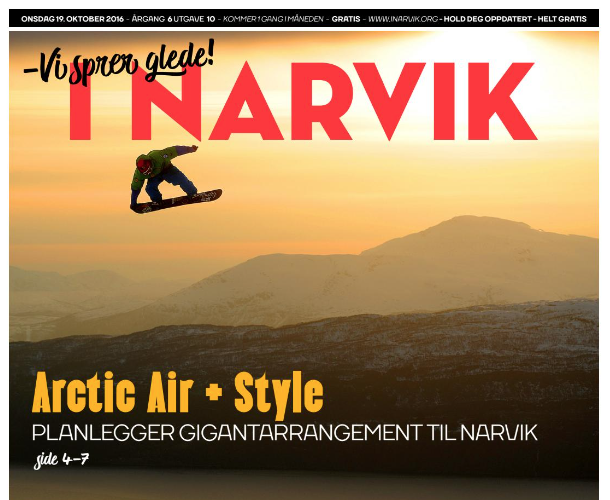 e postadresse gratis Narvik